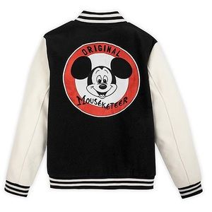 Mickey Mouse Mouseketeer Letterman Jacket